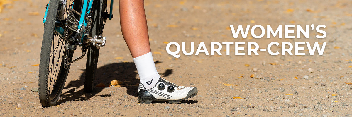Womens Quarter Crew Socks - Swiftwick