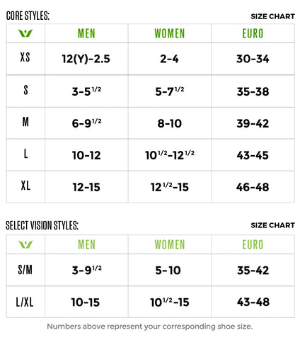 the latest 1a5d8 9d888 Swiftwick sizing is based on your corresponding shoe size. Please refer to  the size chart below