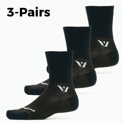 Performance Four 3-Pairs Socks, black