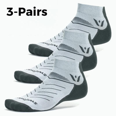 Vibe One 3-Pairs Socks, gray, dark gray