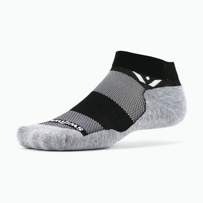 Swiftwick MAXUS One, Running, Golf, Fitness Socks, black