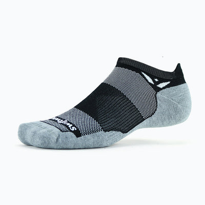 new Maxus Zero Tab Athletic Sock, black
