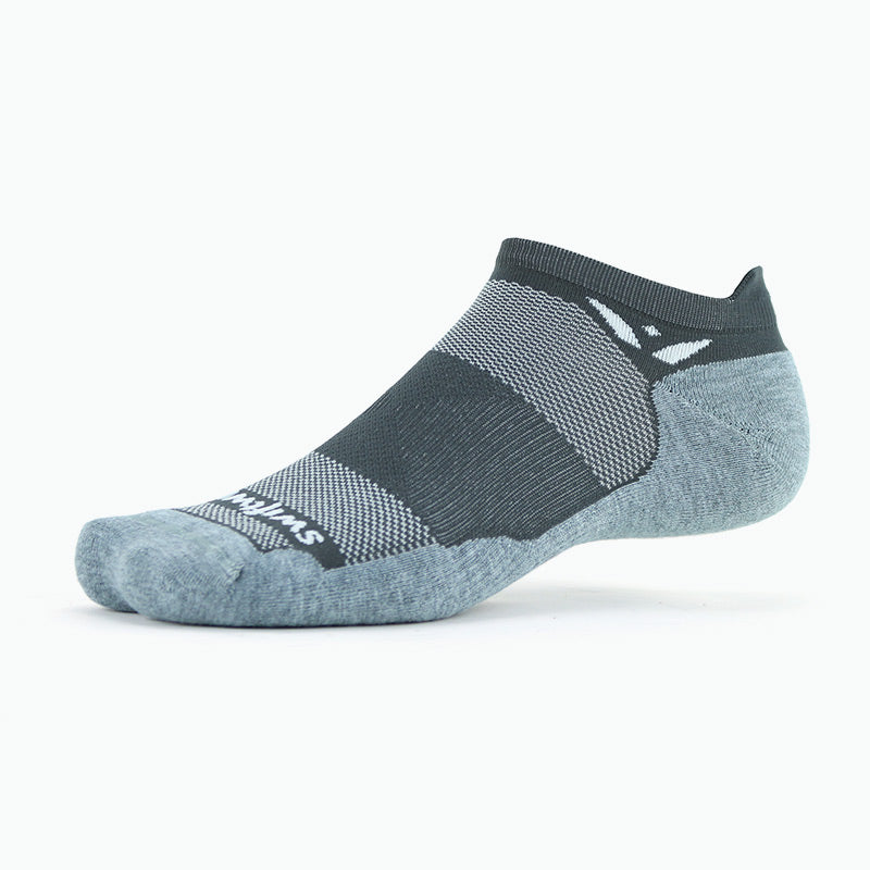 new Maxus Zero Tab Athletic Sock, Gray