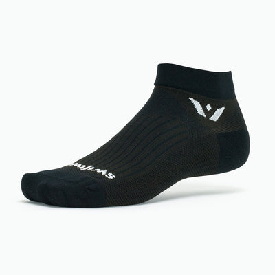 Swiftwick PERFORMANCE One, Golf Socks, black