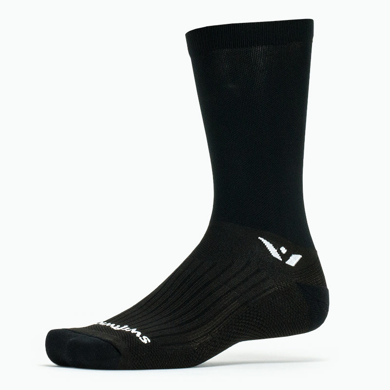 Swiftwick PERFORMANCE Seven, Cycling Socks, black