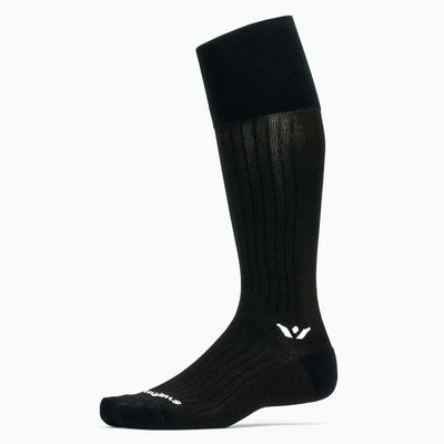Swiftwick PERFORMANCE Twelve, Snowsports Socks, black