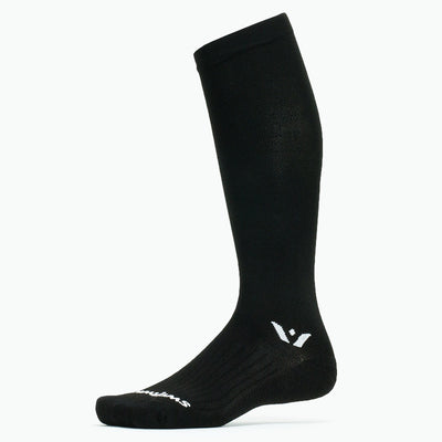 Swiftwick ASPIRE Twelve, Trail Running, Cycling, Snowsports Socks, black