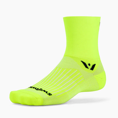 Swiftwick ASPIRE Four, Running, Trail Running, Cycling Socks, yellow