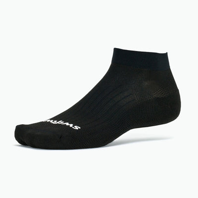 Swiftwick ASPIRE One, Military Compliant, Dress Code Socks, black