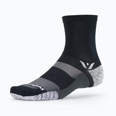 Swiftwick FLITE XT Five, fitness, workout, crossfit socks, black