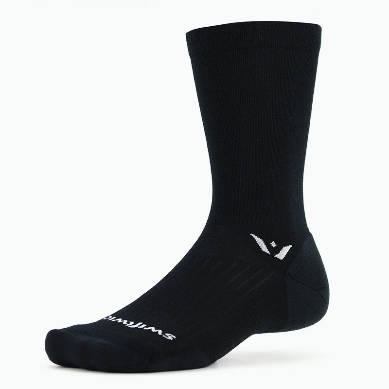 Pursuit Seven Merino Wool Sock, Black