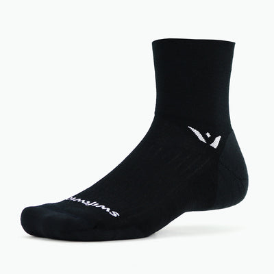 new Pursuit Four Merino Wool Sock, Black