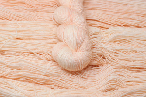 Just Peachy - Twist Sock