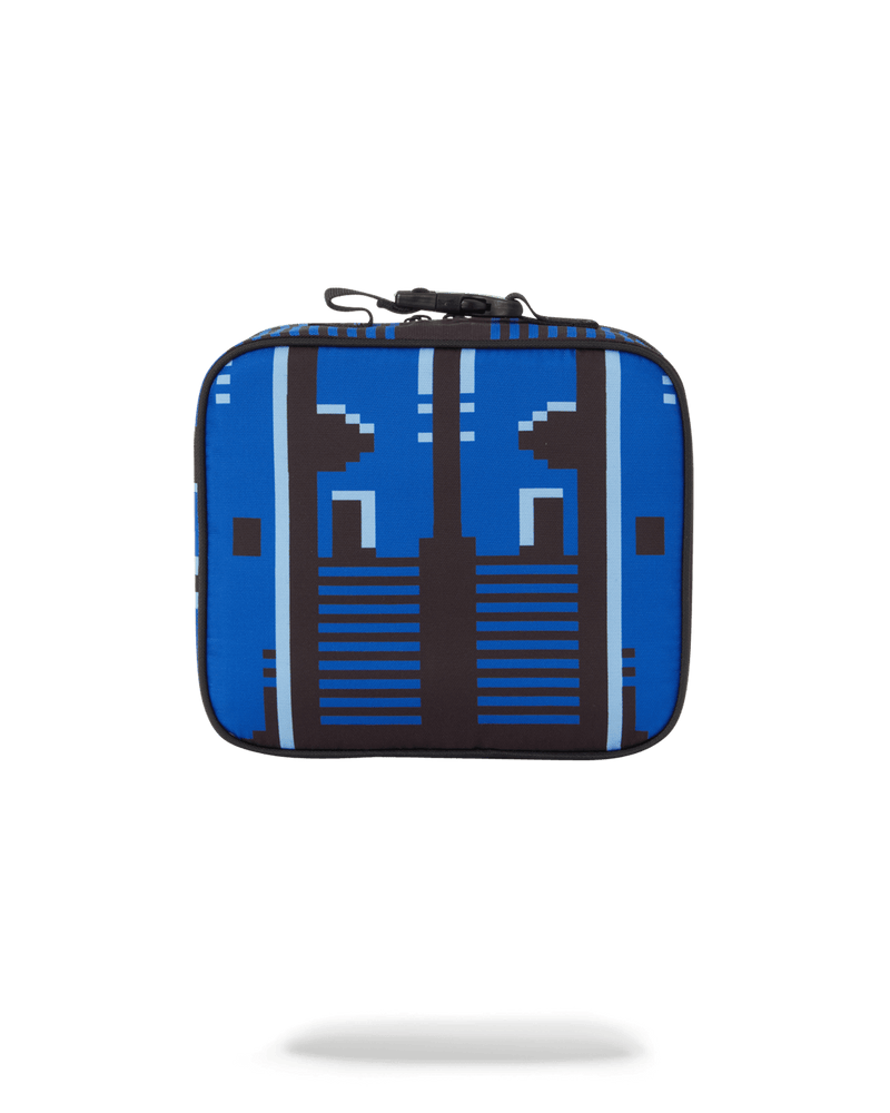 BLUE GAME OVER LUNCHBOX