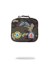 CAMO PATCHES LUNCHBOX