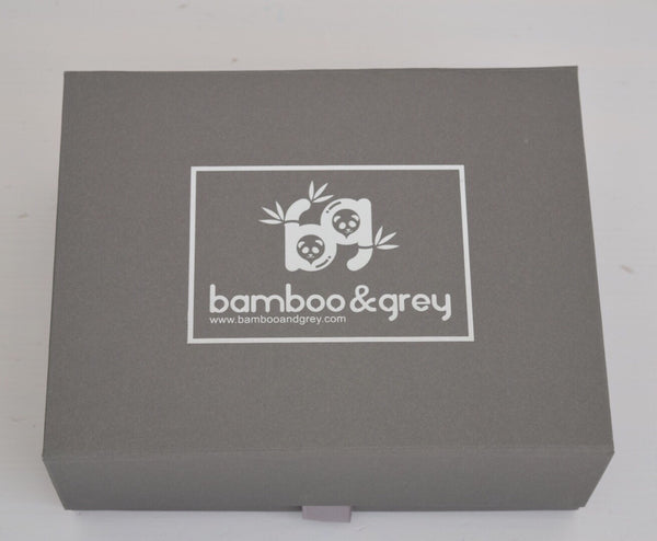 Luxury Essential Gift Box - Bamboo & Grey