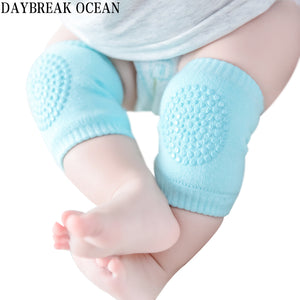 Toddler Kids Kneepad Protector Soft Thicken Terry Non-Slip Dispensing Safety Crawling Baby Leg Warmers Well Knee Pads For Child