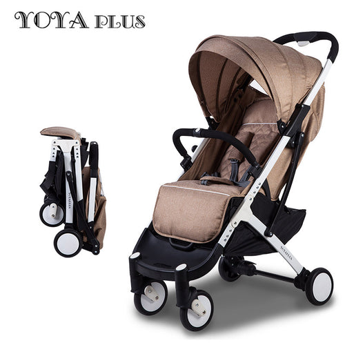 YOYA PLUS baby strollers ultra-lightweight folding umbrella baby trolley