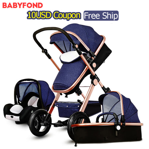 Our Cuddly Stroller Ships Free! 3 in 1 baby strollers and  sleeping basket