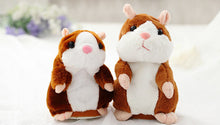 Talking Hamster Mouse Pet Plush Toy Hot Cute Speak Talking Sound Record Hamster Educational Toy for Children Gift
