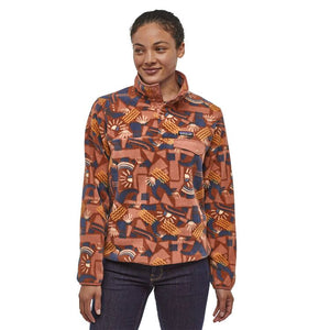 Women's Light Weight Synchilla Snap T Pullover