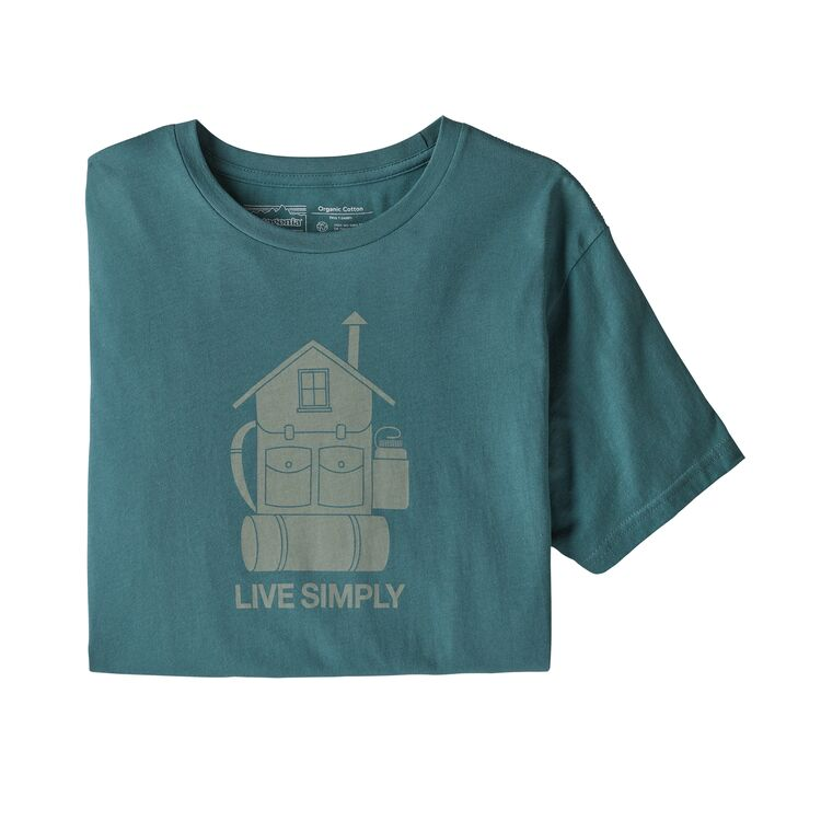 Men's Live Simply® Home Organic Cotton T-Shirt