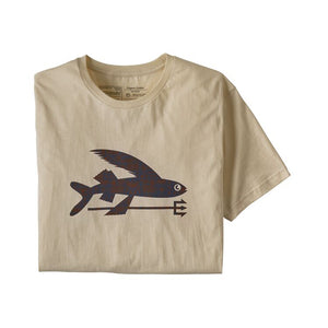 Men's Flying Fish Organic Cotton T-Shirt