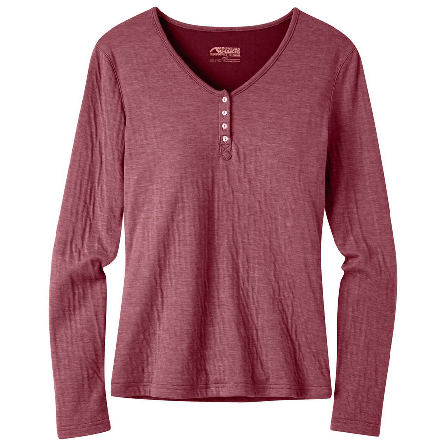 Women's Virginia City Henley