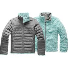 Youth Girls Reversible Mossbud Swirl Jacket