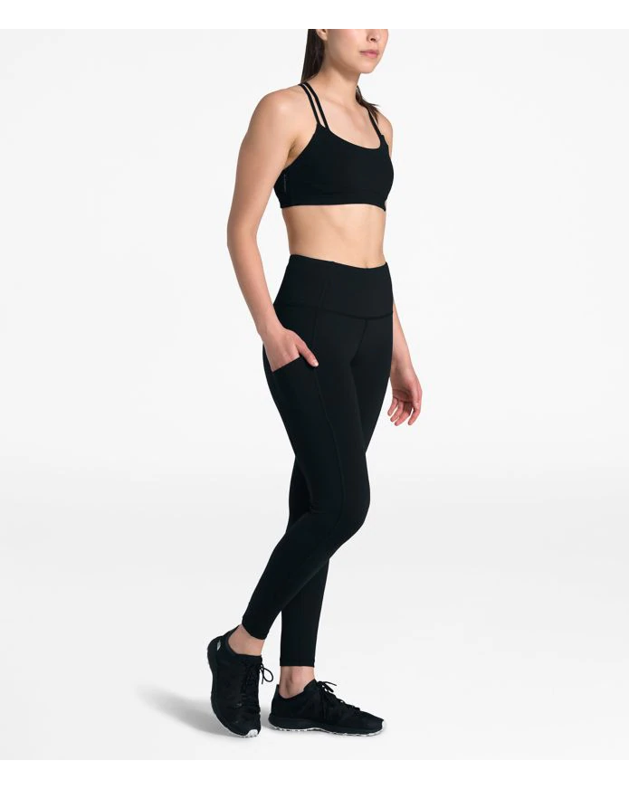 Women's Motivation Pocket High Rise 7/8 Crop Tight
