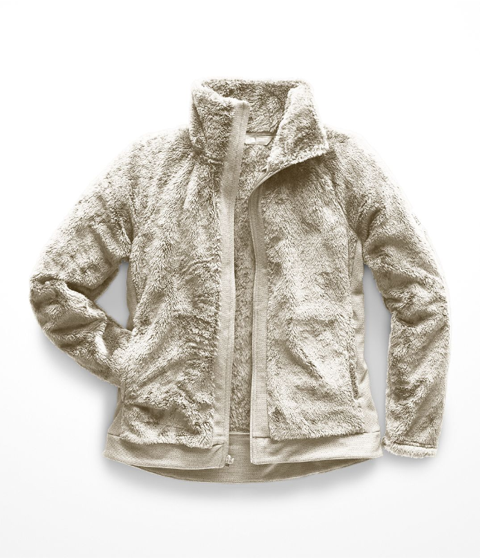 Woman's Furry Fleece Full Zip Jacket