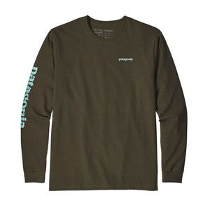 Men's Long Sleeve Text Logo Responsibilli-Tee