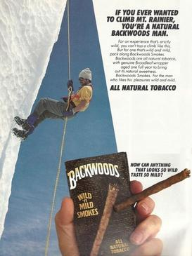 Backwoods Advertisement