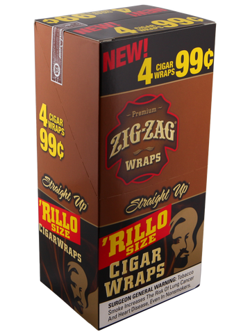 Zig Zag Straight Up Rillo Wraps