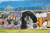 Biggie Smalls on wall in Germany