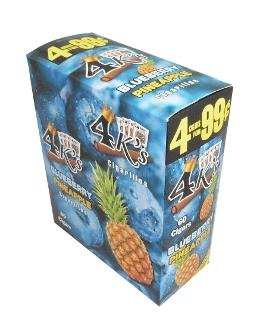 4 Kings Blueberry Pineapple Double Pack