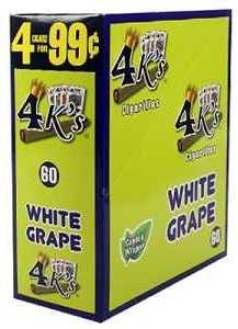 4 Kings White Grape Double Pack
