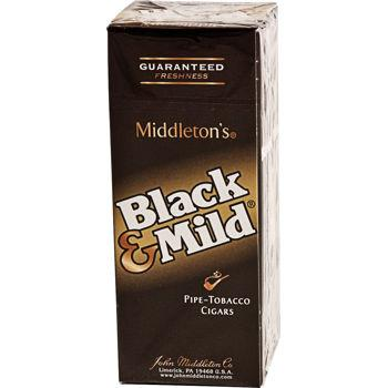 Black and Mild Original Singles