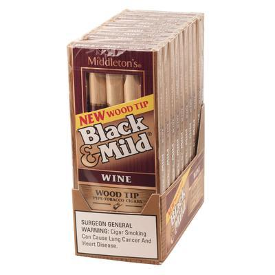 Black and Mild Wood Tip Wine Pack