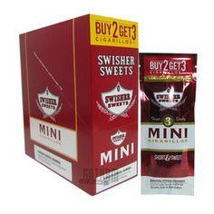 Swisher Sweets Mini Cigarillo 3 for 2 Sweet