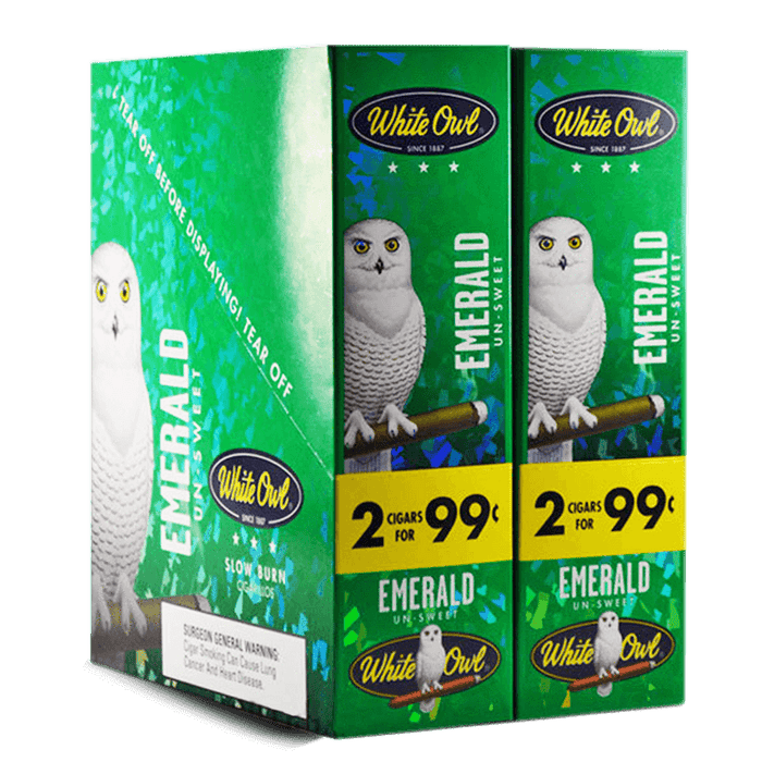 White Owl Emerald