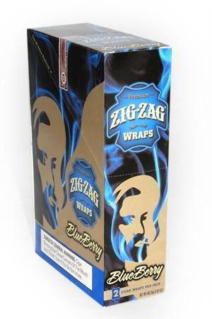Zig Zag Wraps Blueberry