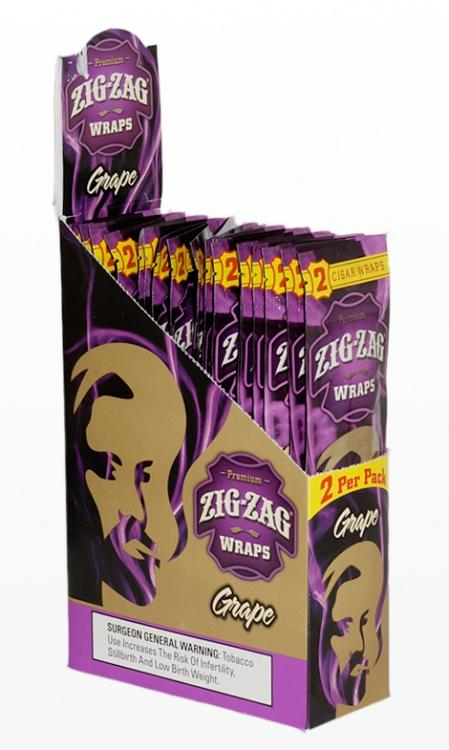 Zig Zag Wraps Grape