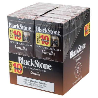 Blackstone Vanilla Tip Cigarillo Value Pack