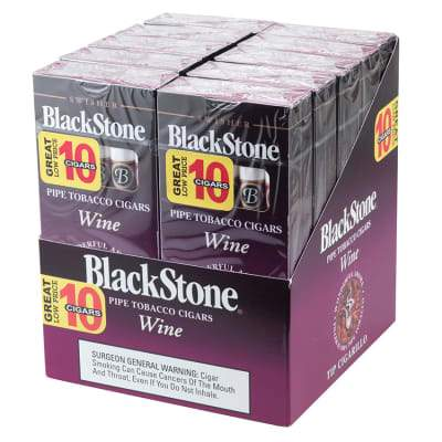 Blackstone Wine Tip Cigarillo Value Pack