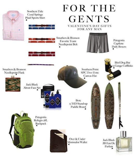 For the Gents: A Valentine's Day Gift Guide