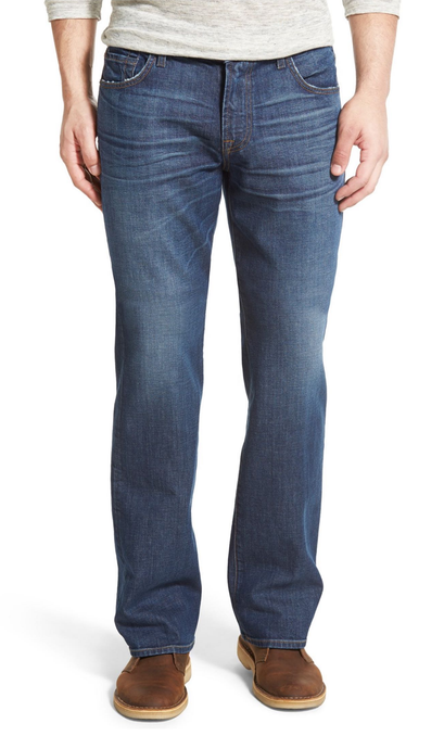 7 For All Mankind MEN - BOTTOMS - JEANS 7 For All Mankind, Brett Modern Bootcut with