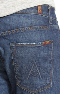 "7 For All Mankind MEN - BOTTOMS - JEANS 7 For All Mankind, Brett Modern Bootcut with ""A"" Pocket, Visionary"