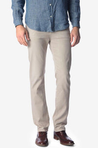 7 For All Mankind MEN - BOTTOMS - JEANS 7 For All Mankind, Luxe Performance Colored Denim Slimmy Slim Straight, Light Khaki