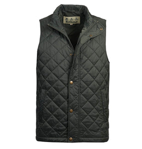 Barbour MEN - OUTERWEAR - VEST Barbour, Barlow Gilet, Forest